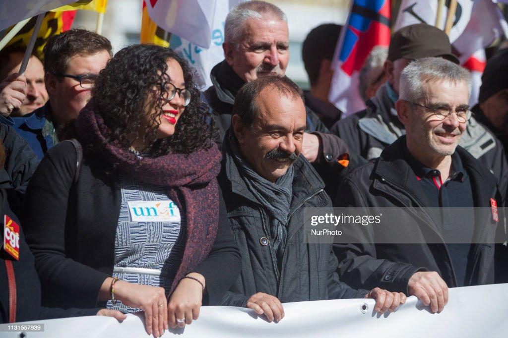 FRA: Public Services Strikes In Paris