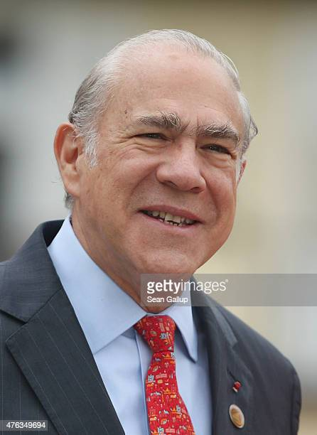 SecretaryGeneral of the Organisation for Economic Cooperation and Development Jose Angel Gurria attends the second day of the summit of G7 nations at...
