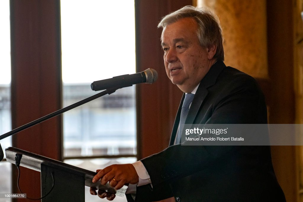 Secretary-General of the United Nations Antonio Guterres Visits Costa Rica