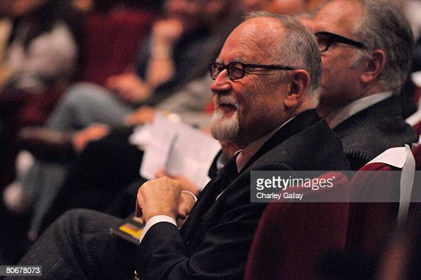 Secretary-Treasurer Gil Cates during the 12th annual City of Lights, City of Angels French Film Festival held at the Directors Guild of America on...