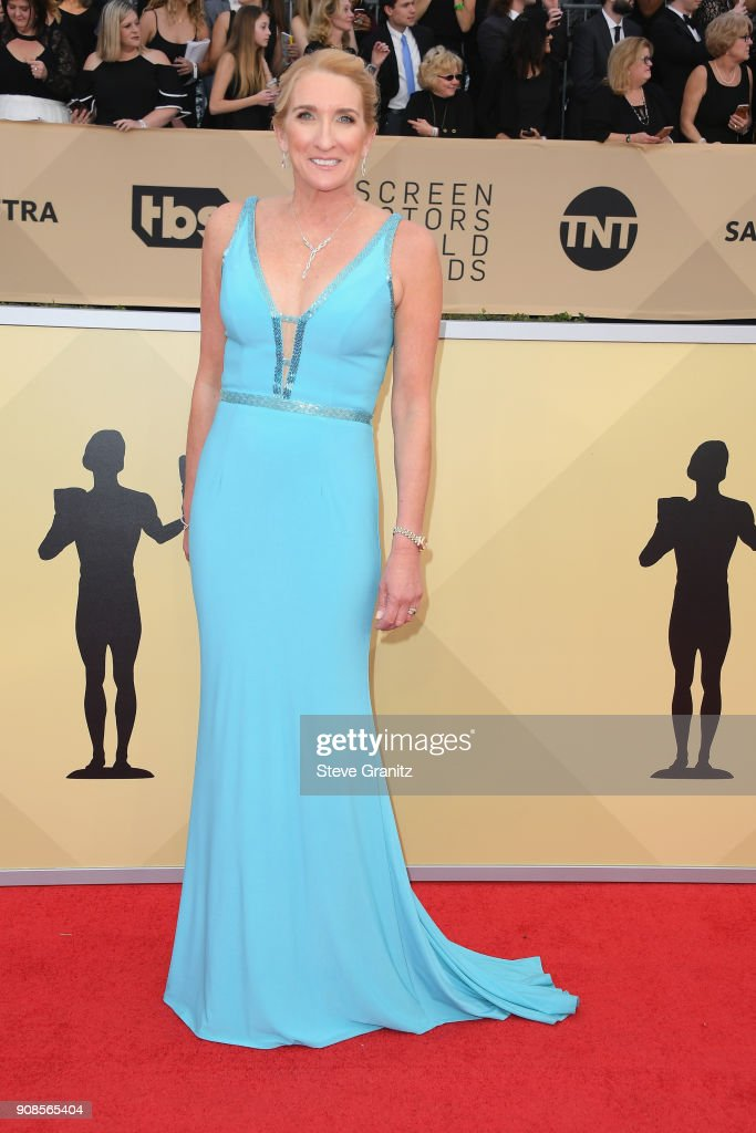 Secretary-Treasurer Jane Austin attends the 24th Annual Screen Actors Guild Awards at The Shrine Auditorium on January 21, 2018 in Los Angeles, California.