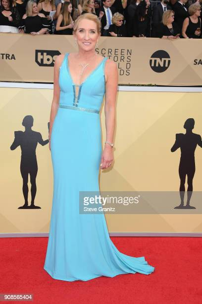 Secretary-Treasurer Jane Austin attends the 24th Annual Screen ActorsGuild Awards at The Shrine Auditorium on January 21, 2018 in Los Angeles,...