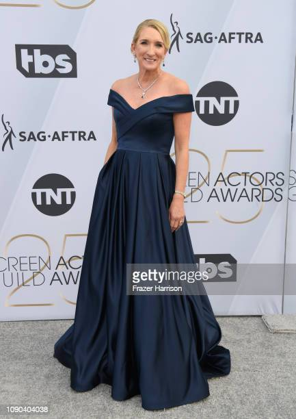 SecretaryTreasurer Jane Austin attends the 25th Annual Screen Actors Guild Awards at The Shrine Auditorium on January 27 2019 in Los Angeles...