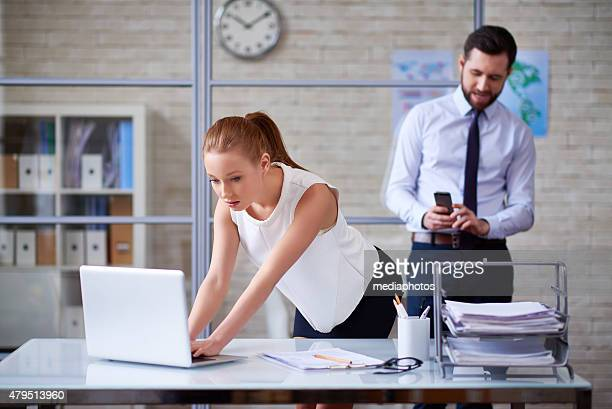 secretly photographing - sexual harassment stock pictures, royalty-free photos & images