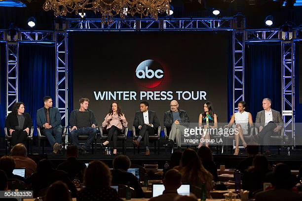 TOUR 2016 Secrets and Lies Session The cast and executive producers of Secrets and Lies addressed the press at Disney | Walt Disney Television via...