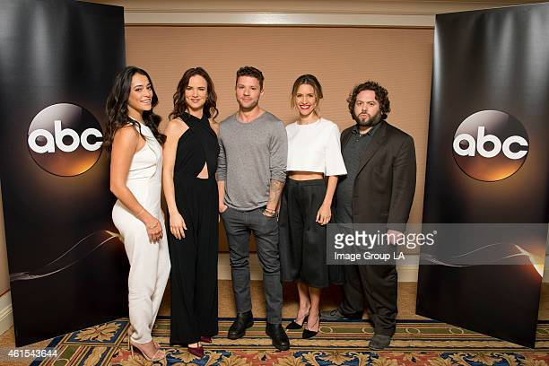 TOUR 2015 Secrets and Lies The cast and executive producers of Secrets and Lies at Disney | Walt Disney Television via Getty Images Television...