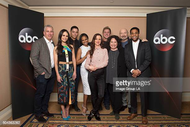 TOUR 2016 Secrets and Lies The cast and executive producers of Secrets and Lies at Disney | Walt Disney Television via Getty Images Television...