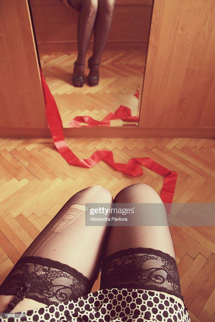 secrets in lace : Foto de stock