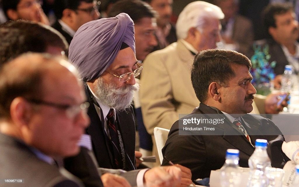 Section of audience during panel discussion on uncovering the Haryana growth story Gains, Gaps and Goals at Leaderspeak@ht, on February 8, 2013 in Gurgaon, India.