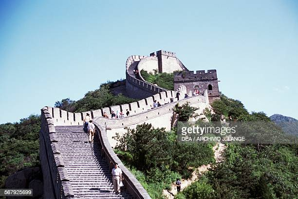 A section of the Great Wall near Badaling Beijing China