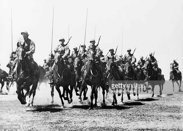 Section Of The Polish Cavalry During A Maneuver On September 4 1939 The Polish Army Was Resisting German Attacks