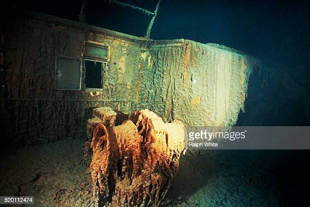 section of titanic - titanic stock pictures, royalty-free photos & images