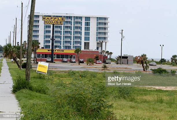 A section of US Hwy 90 in Biloxi Mississipppi including the former site of Biloxi Beach Amusement Park is shown in August 2010 about five years after...