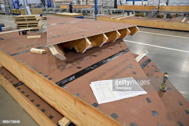 Blueprint robotics stock photos and pictures getty images sections of a roof sit at the blueprint robotics facility in baltimore maryland us on tuesday malvernweather Choice Image