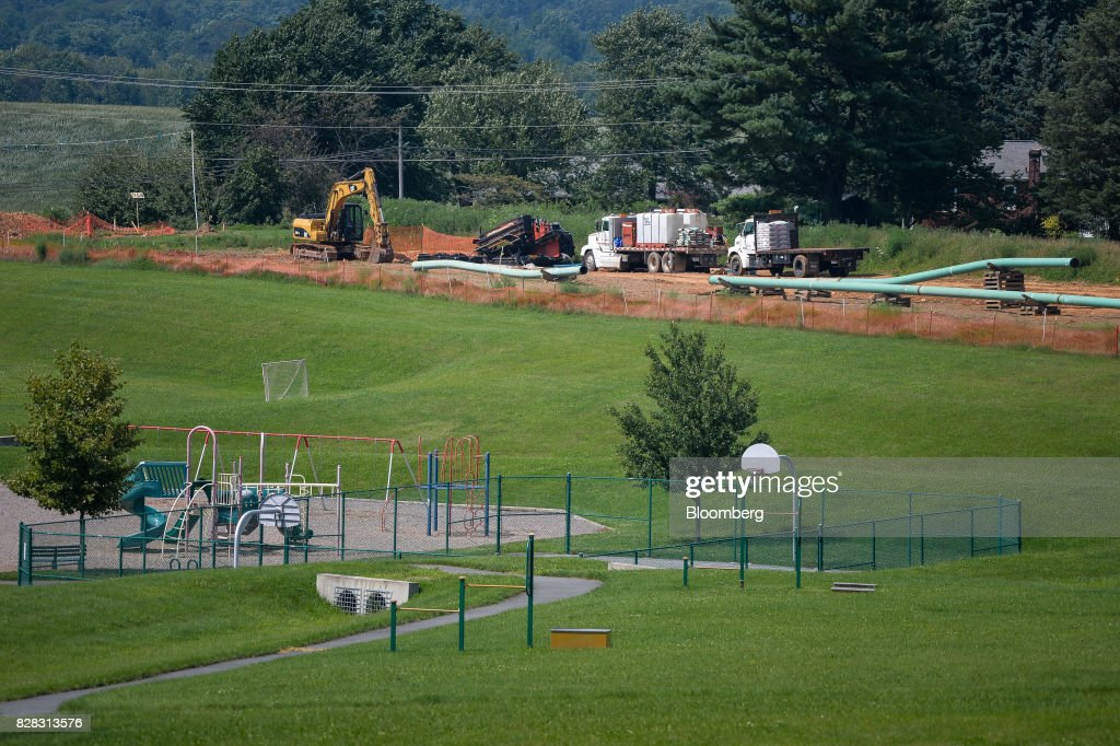 Construction Of The Mariner East 2 Pipeline As Energy Transfer Inherits Tiff : News Photo
