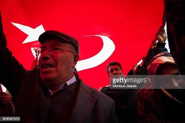 Secular Turks visit the Anitkabir in Ankara the mausoleum of Mustafa Kemal Ataturk Turkey's secular leader who died 74 years ago on November 10th...
