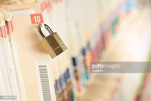 secure medical records - locking stock pictures, royalty-free photos & images