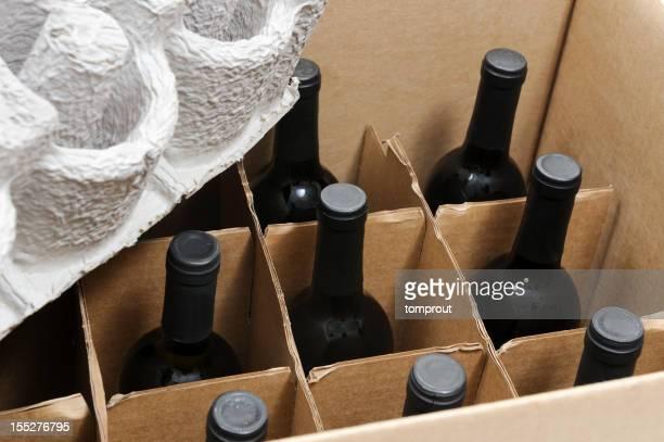 Sicherer Versand von Weinflaschen