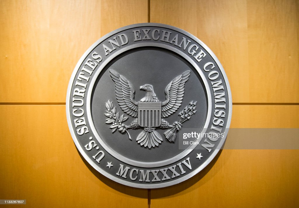 U.S. Securities and Exchange Commission... : News Photo