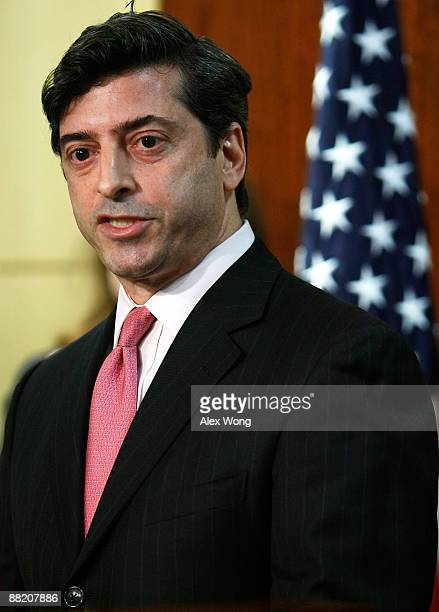 Securities and Exchange Commission Enforcement Director Robert Khuzami speaks during a news conference at SEC�s headquarters June 4 2009 in...