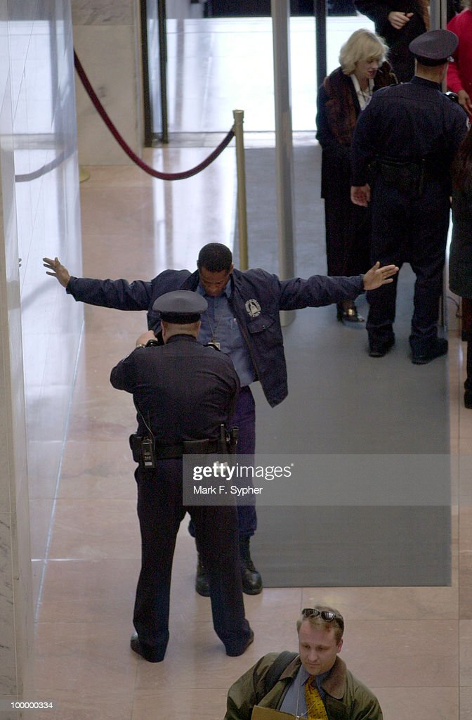 Security at the Hart Senate Office Building was high on Tuesday as the doors swung open for the first time in over three months.