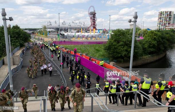 Security at the London 2012 Olympic Park