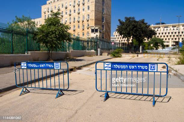 security barriers in jerusalem. - mark's stock pictures, royalty-free photos & images