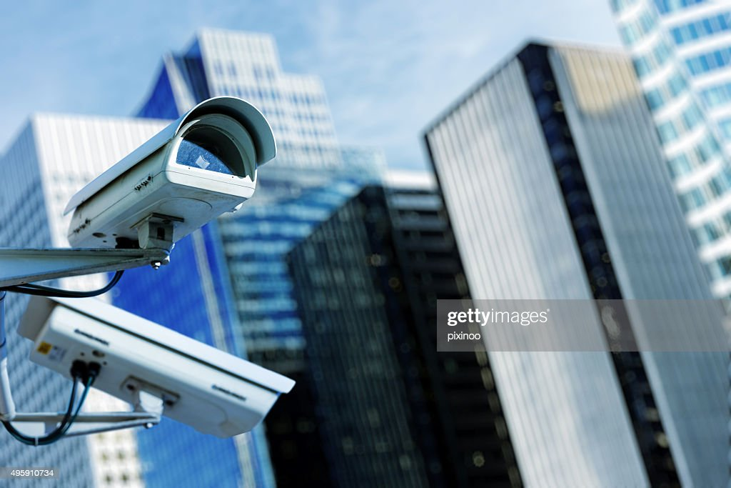security camera and urban video : Stock Photo