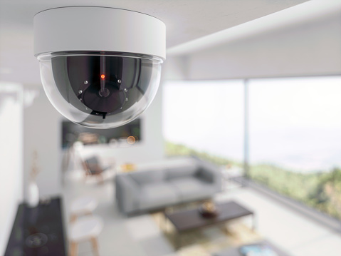 Security Camera in living room 1172189422