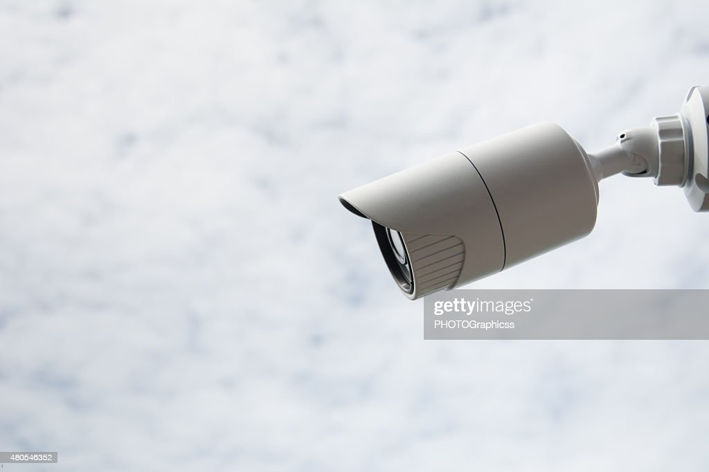 CCTV de cámara de seguridad : Foto de stock