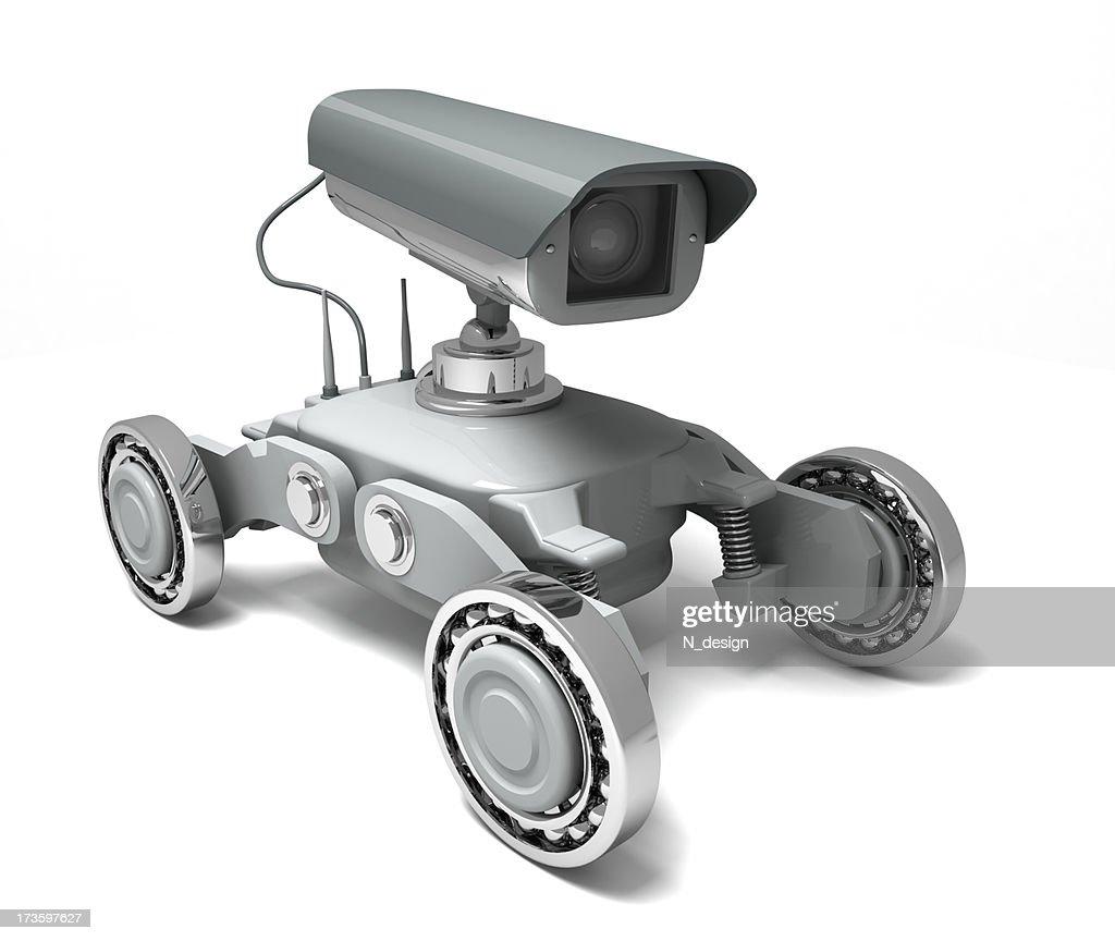 Security camera. Robot : Stock Photo