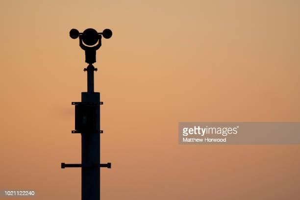 CCTV security camera seen on November 05 2017 in Cardiff United Kingdom
