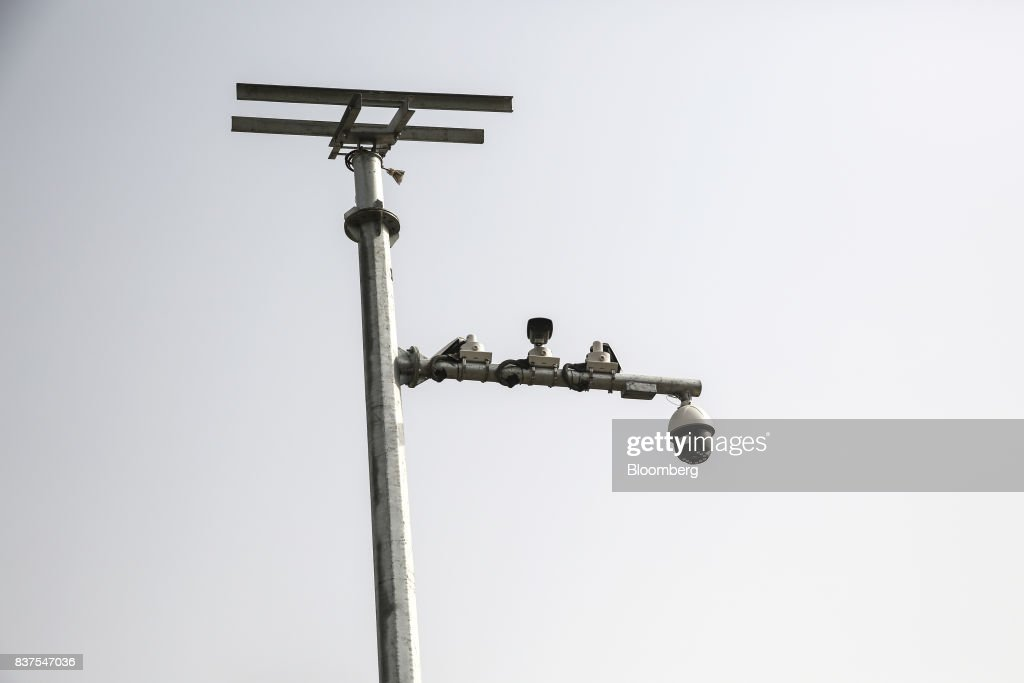 Security cameras operate in Lahore Pakistan on Tuesday June 13 2017 While militants the US identifies as terrorists find refuge in Pakistan safety...