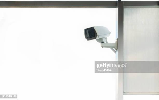 Security CCTV camera for safety in office building