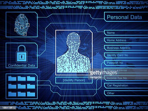 security concept - identity stock photos and pictures