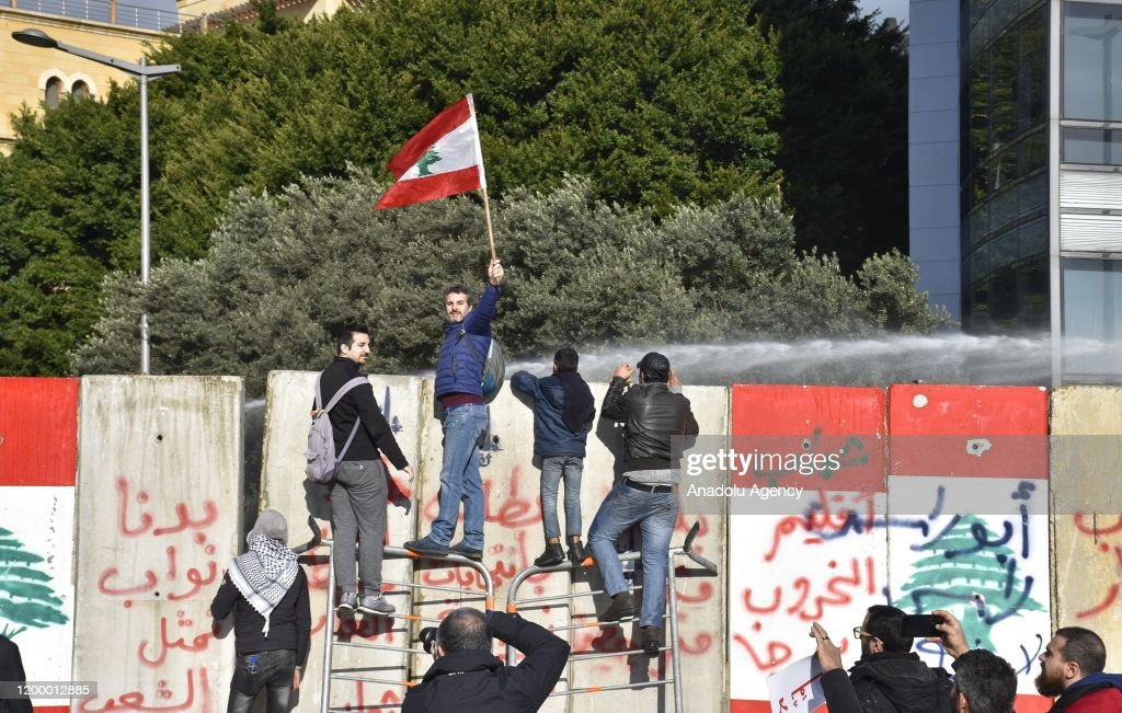 Protest against the new Lebanese government : News Photo