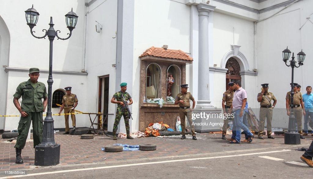 LKA: Multiple Explosions Hit Sri Lanka's Capital On Easter