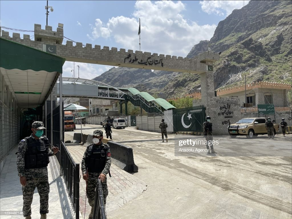 Pakistan completed 90 percent of the fence on the border with Afghanistan to prevent illegal crossings : News Photo