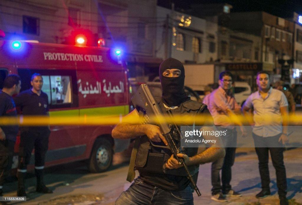 Tunisia: one terrorist dead after blowing himself : Nieuwsfoto's