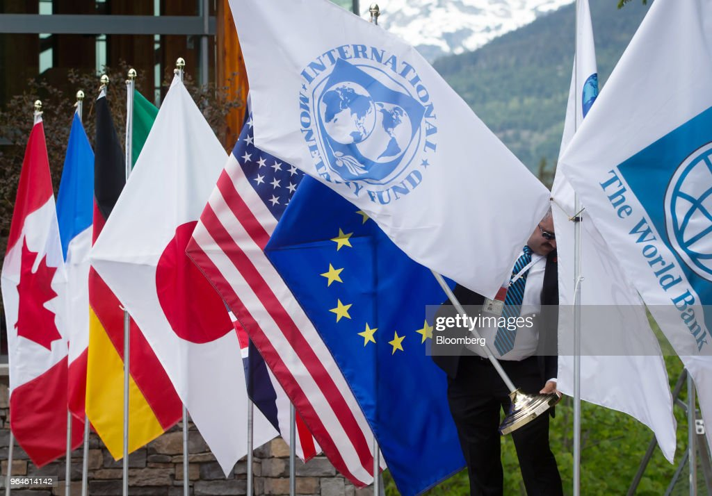 Key Speakers At The G7 Finance And Development Ministers And Central Bank Governors Meeting : News Photo
