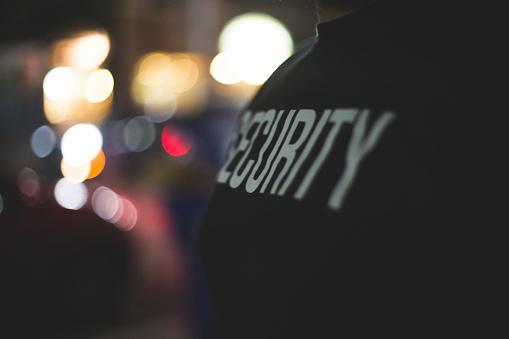 Security Guard at Door 481242114