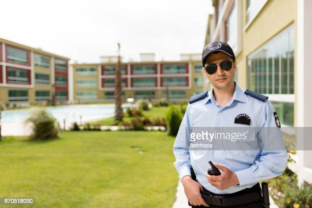 security guard - guarding stock photos and pictures