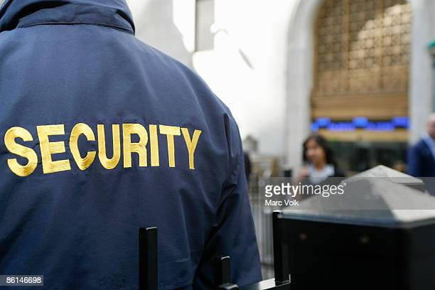 a security guard - watchmen stock pictures, royalty-free photos & images