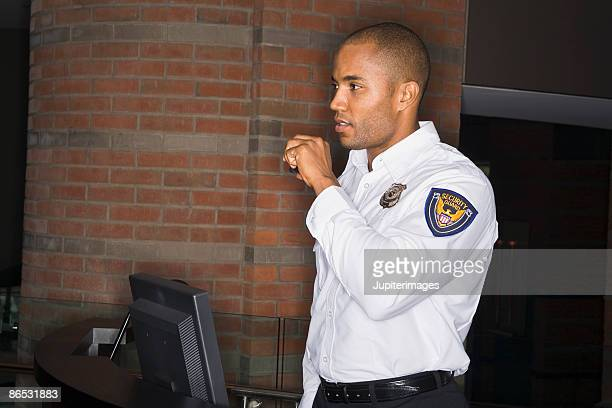 security guard - watchmen stock pictures, royalty-free photos & images