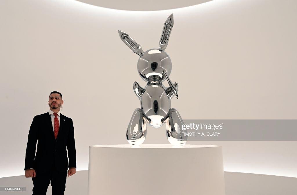 US-art-auction-Christie : News Photo