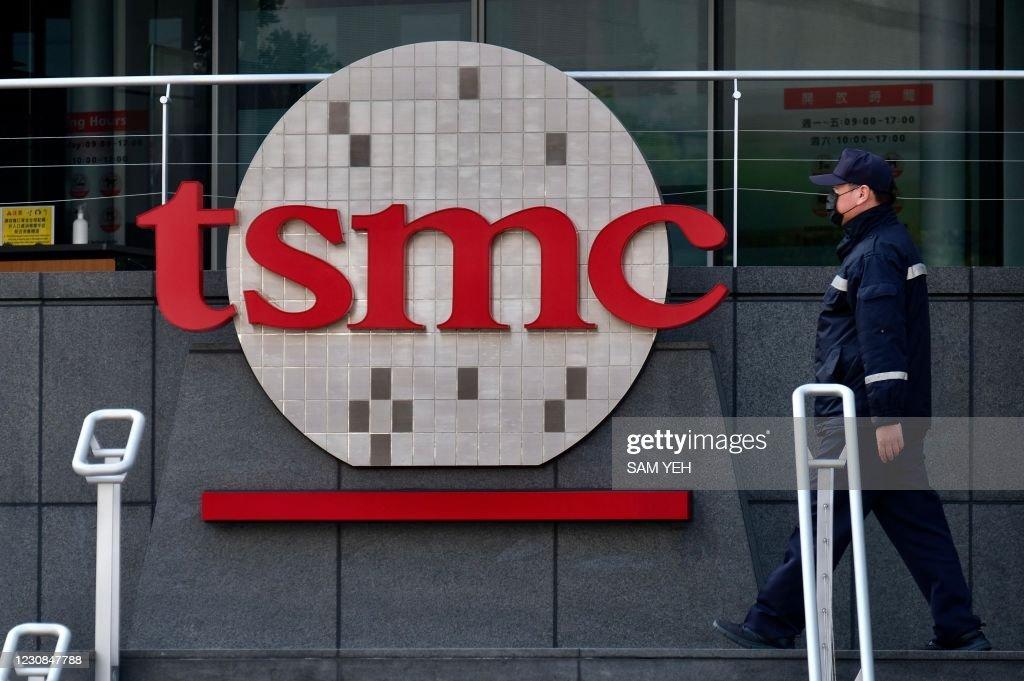 TAIWAN-IT-TSMC : News Photo