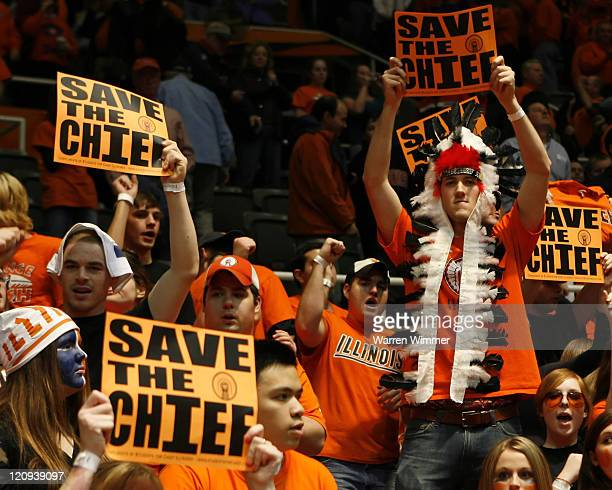 Security guards at Assembly Hall were instructed before the start of action to confiscate the Save the Chief signage. These students hid theirs and...