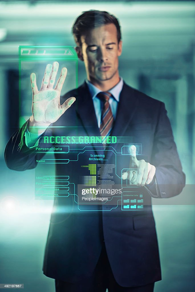 Security in the modern age : Stock Photo