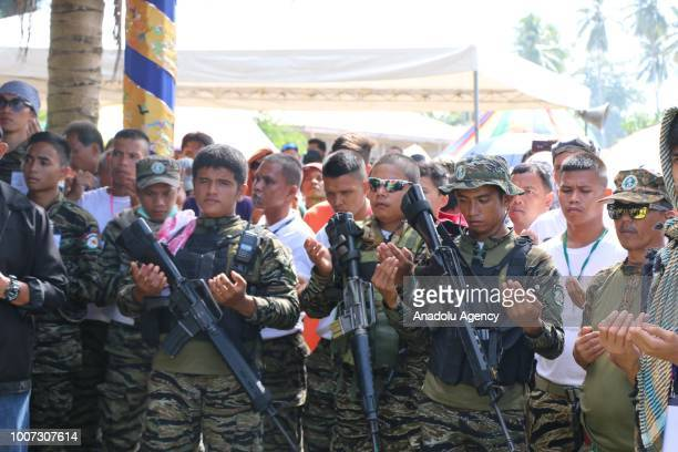 Security measures are taken as a meeting named 'Bangsamoro Consultation Meeting' is held by Moro Islamic Liberation Front to evaluate the Bangsamoro...