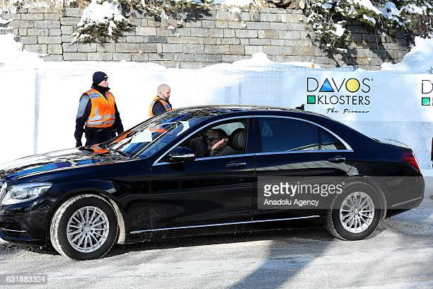 Security measures are taken at Davos during the World Economic Forum annual meeting which brings together business leaders and international...